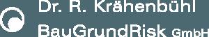 BaugGrundRisk Logo weiss