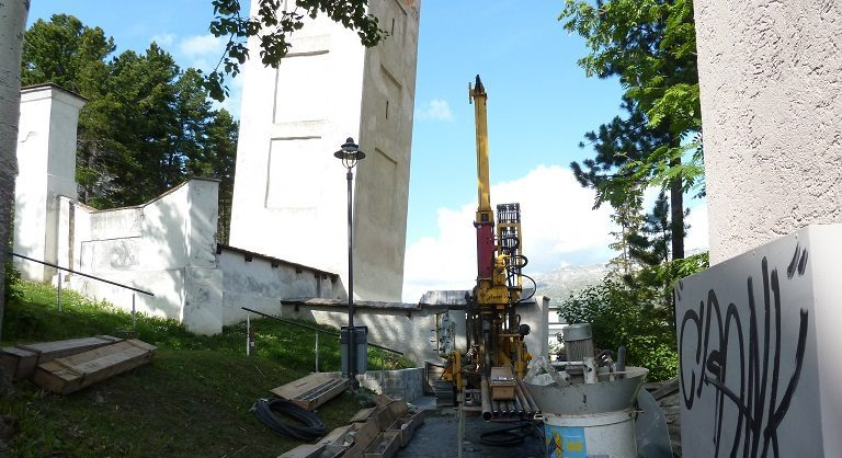 Baugrundabklärung Scala, St. Moritz