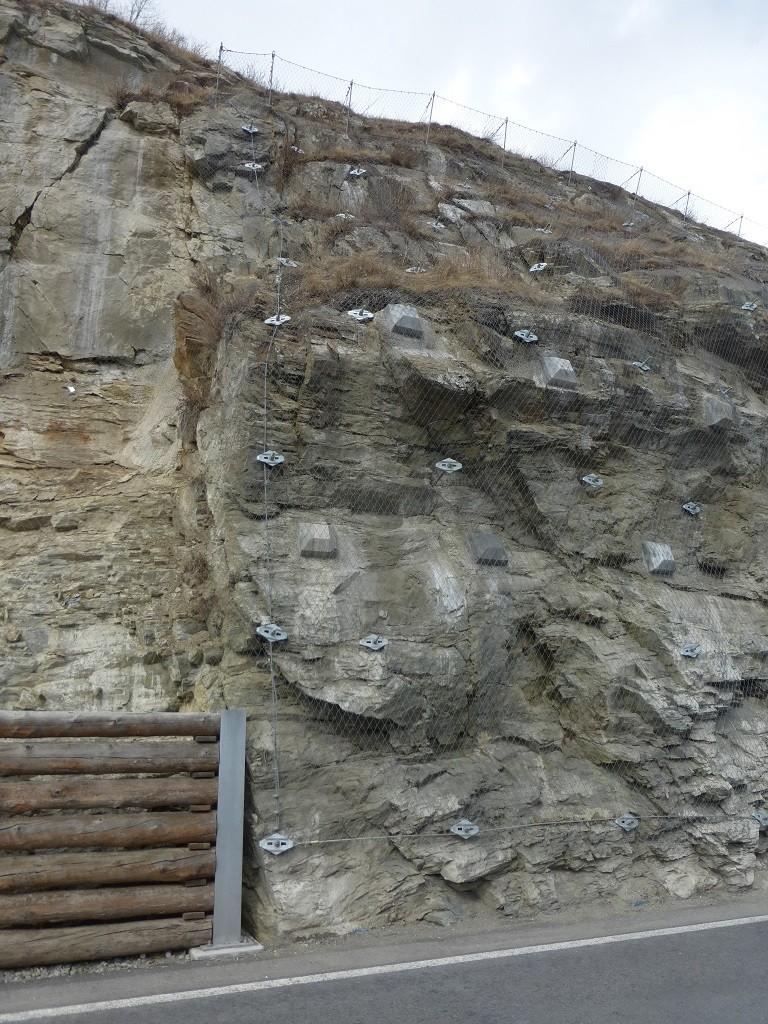 Felssicherung Val Gonda, Lavin