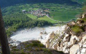 Bergsturzgefährdung Brienz/ Brinzauls