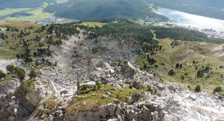 Brattas Rutschung St. Moritz