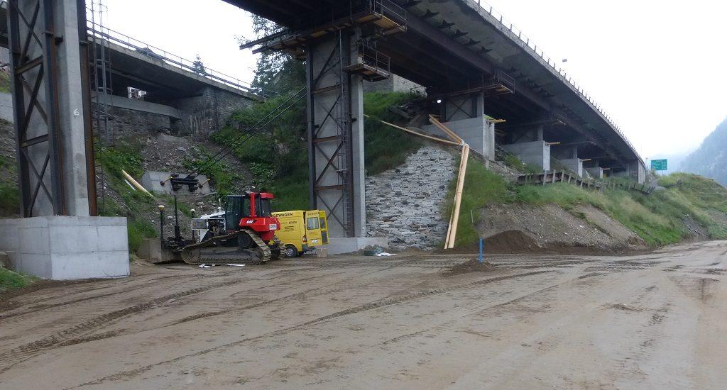 N13 Ersatz Dorfbachbrücke Hinterrhein