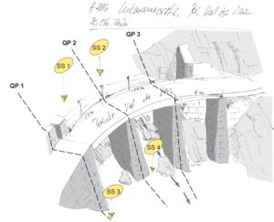 Neubau Brücke Val da Rein, Lukmanierstrasse